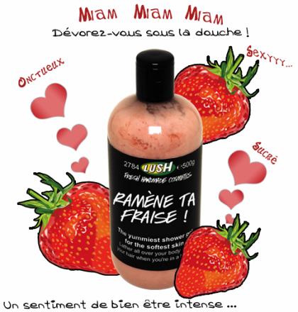 lush - ramene ta fraise