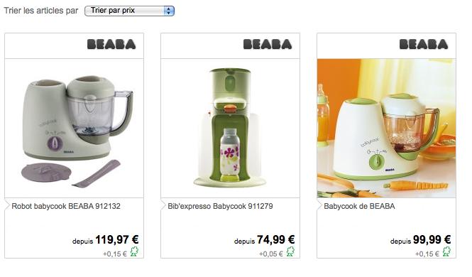 Acheter babycook beaba moins cher soldes du net - Le site le moins cher ...